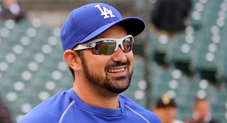 Adrian Gonzalez is a primary supporter of the Ponle Acento campaign. (via Arturo Pardavila III)