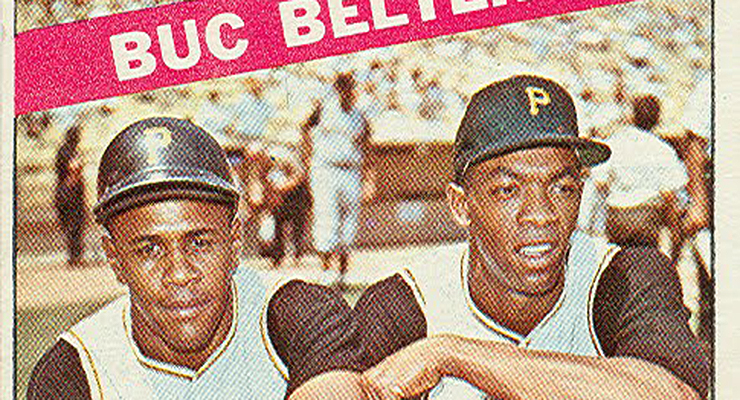 Willie Stargell (left) and Donn Clendenon were indeed a powerful duo.