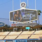 Watching 'Pitch' at Dodger Stadium
