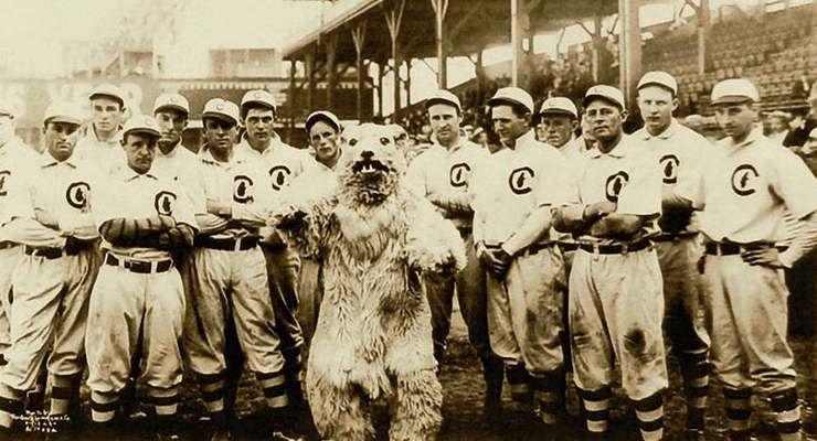 This was the last Chicago Cubs team to win the World Series. (via George R Lawrence)