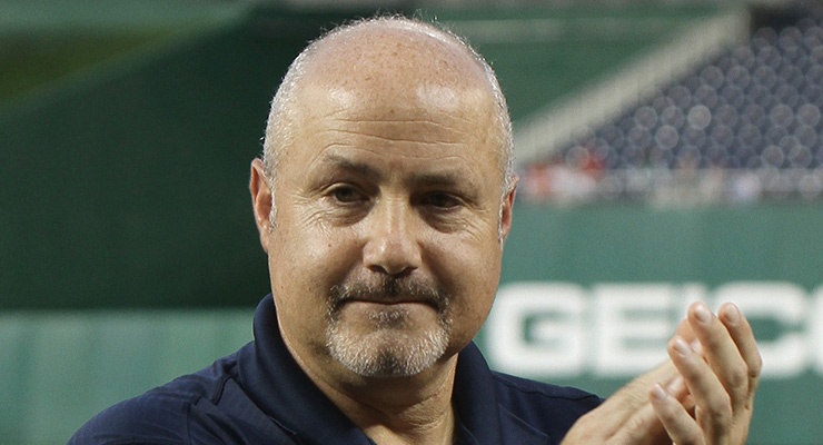 Mike Rizzo was quite the successful scouting director before becoming a GM. (via David B. King)