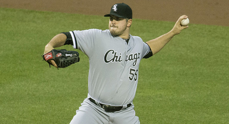 The White Sox gave Carlos Rodon a $6.582 million signing bonus in 2014. (via Keith Allison)