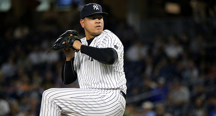 Dellin Betances had some of the highest spin rates of in baseball in 2016. (via Arturo Pardavila III)