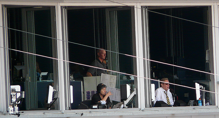 MLB's broadcast booths don't have that much turnover. (via Marianne O'Leary)