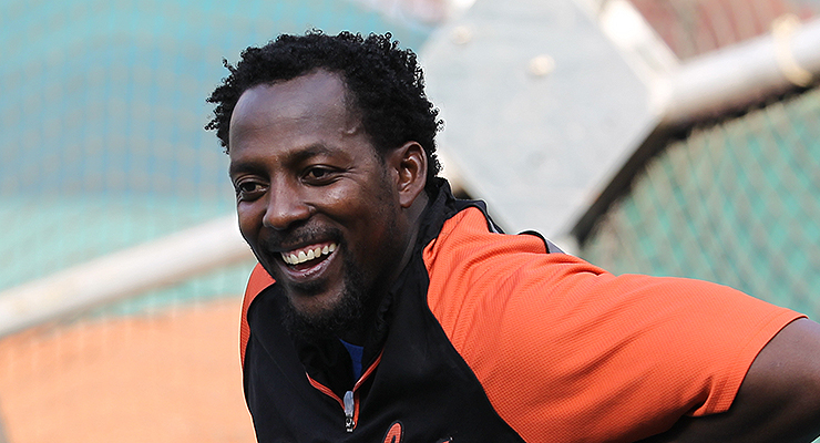 Vladimir Guerrero is right on the cusp of being inducted in his first year of eligibility. (via Keith Allison)