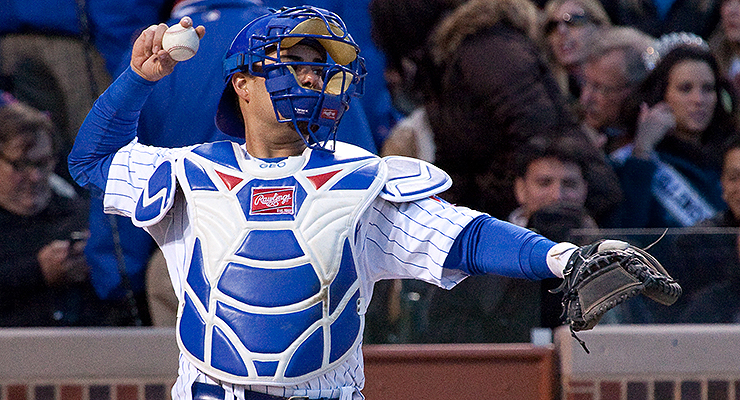 Geovany Soto was the Cubs' primary catcher from 2008-2012. (via Paul Kehrer)