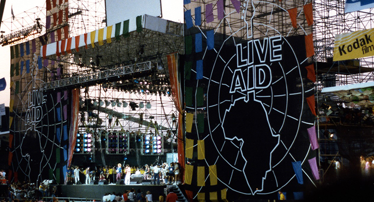 There's a link between this day and the Live Aid concert. (via Squelle)