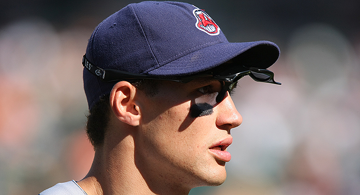 Grady Sizemore was one of the best outfielders in Cleveland history. (via Keith Allison)
