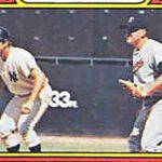 Card Corner Plus, 1972 Topps: Johnny Ellis and Someone Else