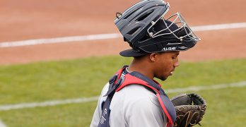 Cleveland's New Catcher Is Streaking Toward the Majors