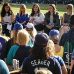 Celebrating Women in Baseball Night at Safeco Field