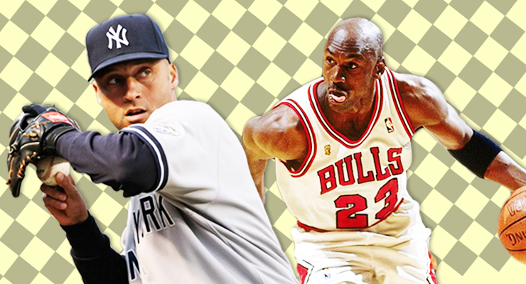 d9286ca7c0d Derek Jeter and Michael Jordan have been friends for a very long time. (via  mccarmona23, Keith Allison & Michelle Jay)