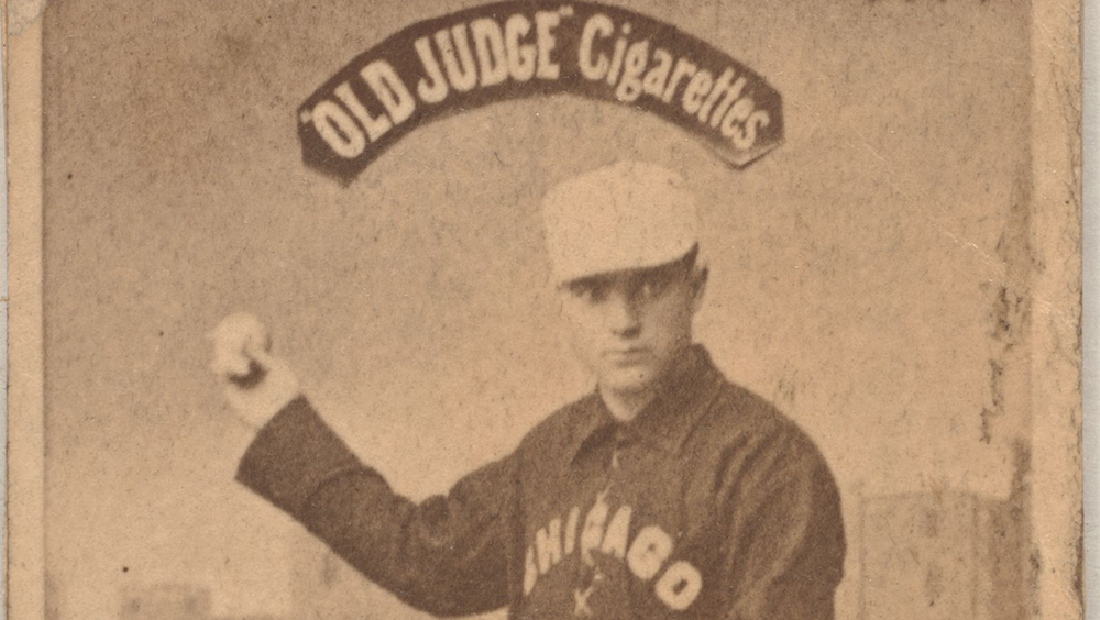 Game Faces A Look Back On The Earliest Baseball Cards The