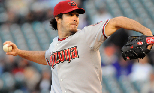 Haren throws a two-seam fastball